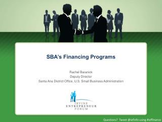 SBA's Financing Programs