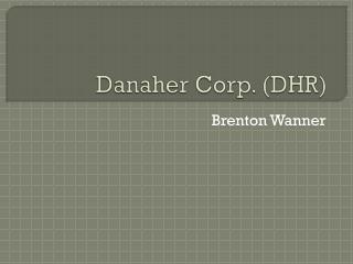 Danaher Corp. (DHR)