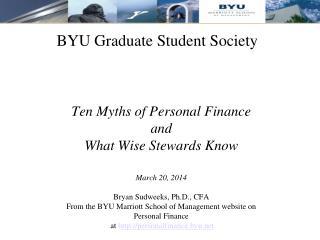 BYU Graduate Student Society
