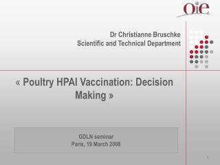 documents on hpai vaccination
