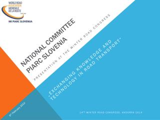 National committee piarc slovenia