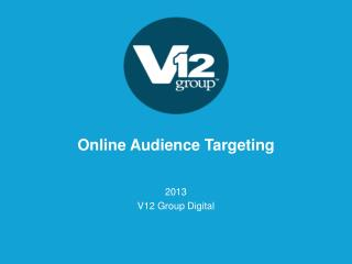 Online Audience Targeting