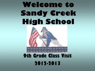 Welcome to Sandy Creek High School