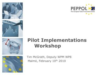 Pilot Implementations Workshop