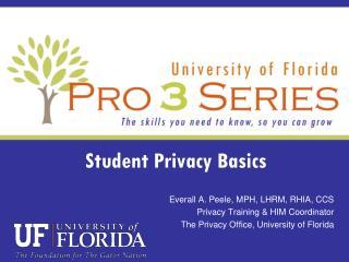 Student Privacy Basics