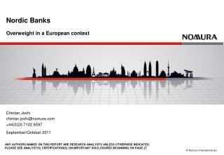 Nordic Banks