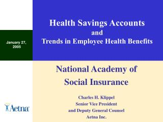 health savings accounts and trends in employee health benefits