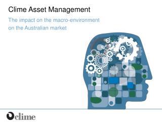 Clime Asset Management