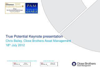 True Potential Keynote presentation