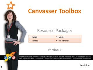 Canvasser Toolbox