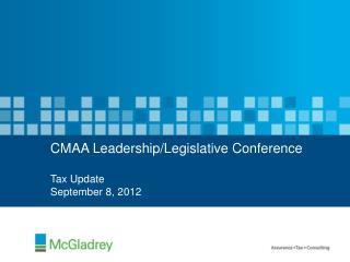 CMAA Leadership/Legislative Conference