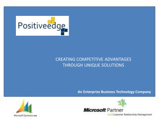 An Enterprise  Business Technology Company