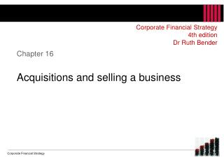 Chapter 16 Acquisitions  and  selling a business