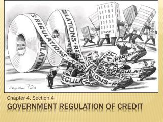 Government regulation of credit