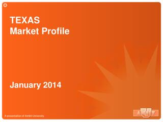 TEXAS  Market Profile