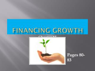 Financing Growth