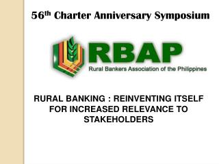 56 th  Charter Anniversary Symposium