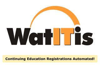 Continuing Education Registrations Automated!