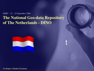The National Geo-data Repository of the Netherlands - DINO