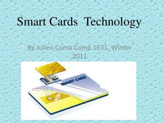 Smart Cards  Technology