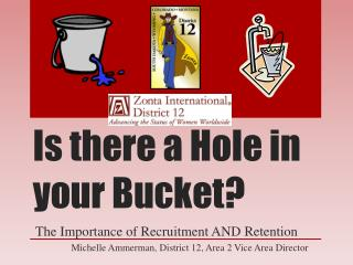 Is there a Hole in your Bucket?