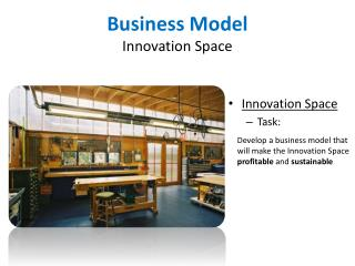 Business Model Innovation Space