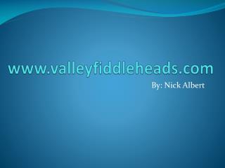 www.valleyfiddleheads.com