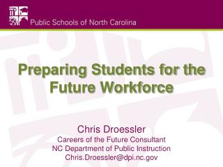 Preparing Students for the Future Workforce