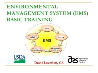 ENVIRONMENTAL MANAGEMENT  SYSTEM (EMS)  BASIC  TRAINING