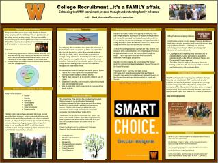 College Recruitment…it's a FAMILY affair. Enhancing the WMU recruitment process through understanding family influence