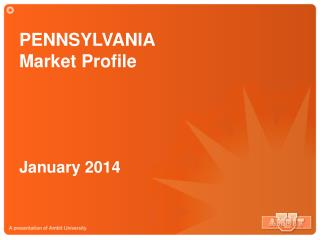 PENNSYLVANIA  Market Profile