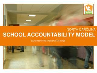 NORTH CAROLINA  SCHOOL ACCOUNTABILITY MODEL