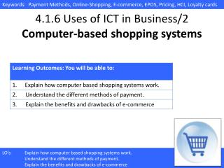 4.1.6 Uses of ICT in Business/2 Computer-based shopping systems
