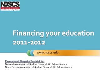 Financing your education   2011-2012