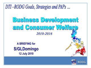 Business Development and Consumer Welfare