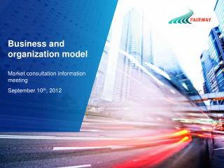 Business and organization model