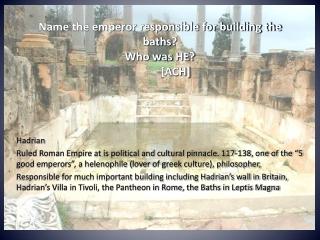 imperial baths