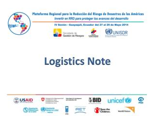 Logistics Note