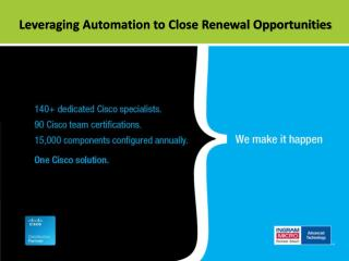 Leveraging Automation to Close Renewal Opportunities