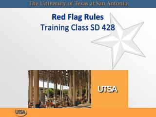 Red Flag Rules Training Class SD 428