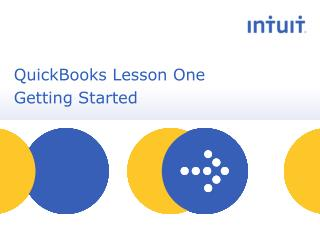 QuickBooks Lesson One  Getting Started