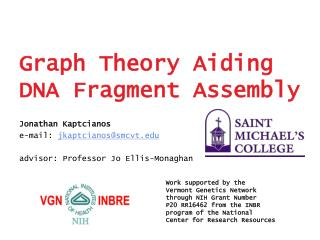 graph theory aiding dna fragment assembly