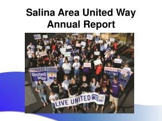 Salina Area United Way Annual Report