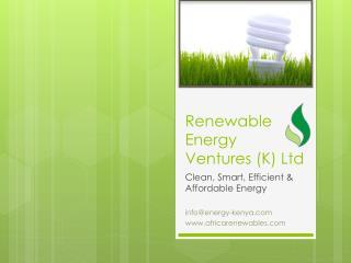 Renewable Energy Ventures (K) Ltd