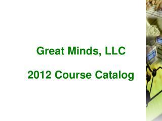 Great Minds, LLC