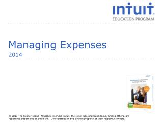 Managing Expenses
