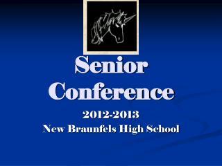 Senior Conference