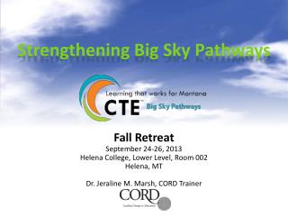 Strengthening Big Sky Pathways