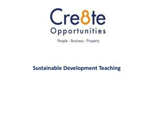 Sustainable Development Teaching