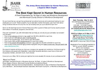 The Jersey Shore Association for Human Resources,   a Superior Merit Chapter